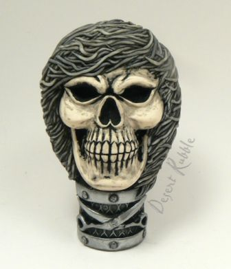 One of a kind Skull Sculpture