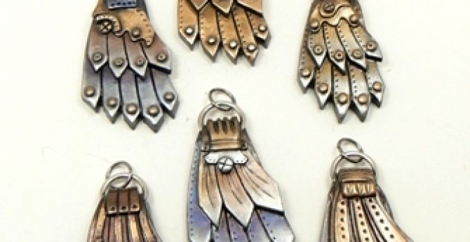 Steampunk Wing pendants