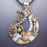 Industrial Steampunk Pendant