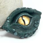 blue dragon's eye pendant
