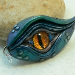 Blue Dragon Eye Pendant