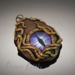purple dragon's eye steampunk porthole