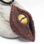 red dragon's eye pendant